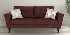 Bristol Three Seater Sofa in Brown Colour