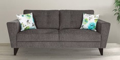 Bristol Three Seater Sofa in Grey Colour