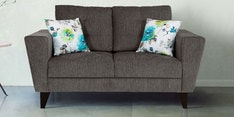 Bristol Two Seater Sofa in Grey Colour