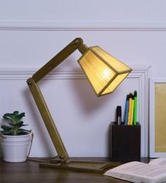 Brown Bamboo Desk Lamp - 1658304