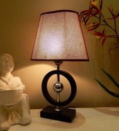 Brown Jute Table Lamp