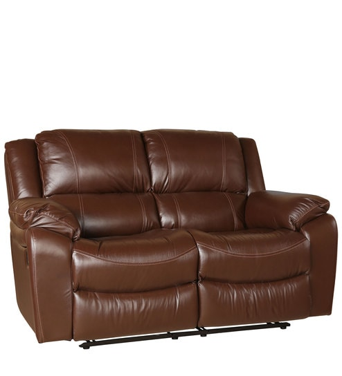 Tremendous Bristol 2 Seater Recliner In Brown Colour By Hometown Spiritservingveterans Wood Chair Design Ideas Spiritservingveteransorg