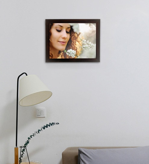 3425c574fced Buy Brown Synthetic Wood Photo Frame By WENS Online - Single Photo ...