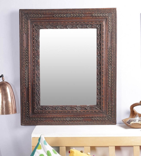 Buy Sloan Square Wall Mirror in Carved Solid Wood Frame by Art of ...