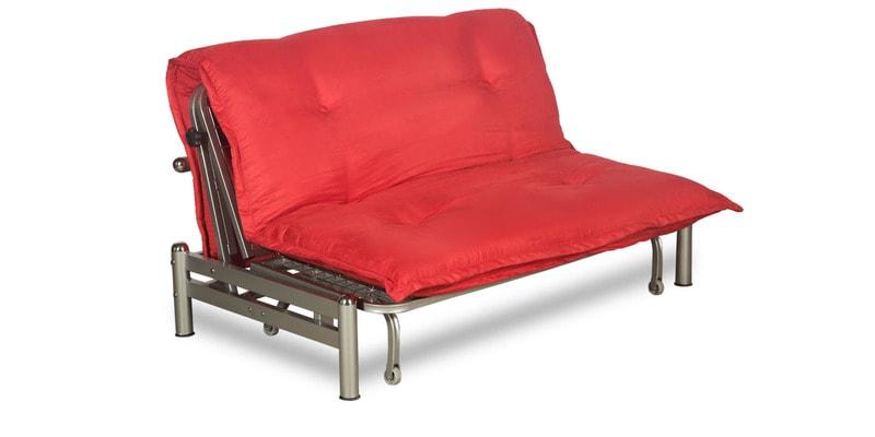 Bed Brussels Finish Interio In Cum Red Godrej By Sofa W29YEIDH