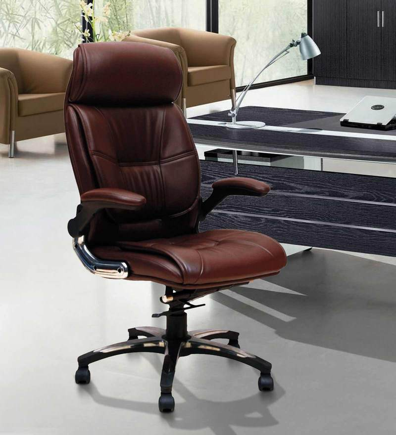 Executive Chair in Brown Colour by Adiko System