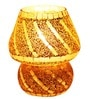G68 Yellow Glass Mosiac Table Lamp by Brahmz