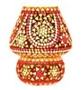 Brahmz mosaic Multicolour Glass Table Lamp