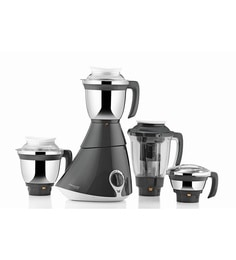 Butterfly Grey & White Stainless Steel 750 Watt Mixer Grinder With 4 Jars