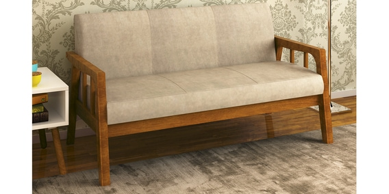 Pleasing Burke 3 Seater Sofa In Coffee Colour By Home Cjindustries Chair Design For Home Cjindustriesco