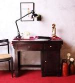 Dursley Study & Laptop Table in Passion Mahagony Finish