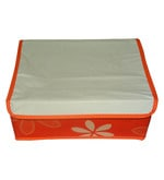 Canvas Orange Clothes Organiser
