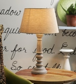 Jumilla Table Lamp In Grey