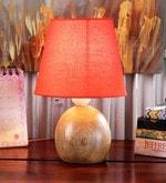 Castilla Table Lamp in Orange