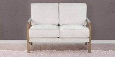 Cartagena Two Seater Sofa in Beige Colour