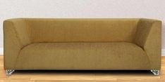 Casa Blanc Three Seater Sofa in Khaki Colour
