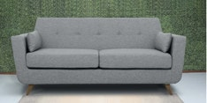 Castello Three Seater Sofa in Gravel Grey Colour