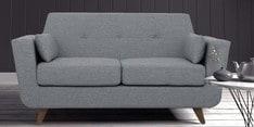 Castello Two Seater Sofa in Gravel Grey Colour