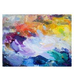 Canvas 32 X 0.2 X 24 Inch Unframed Handpainted Art Painting
