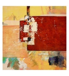Canvas 32 X 0.2 X 32 Inch Unframed Handpainted Art Painting - 1633171