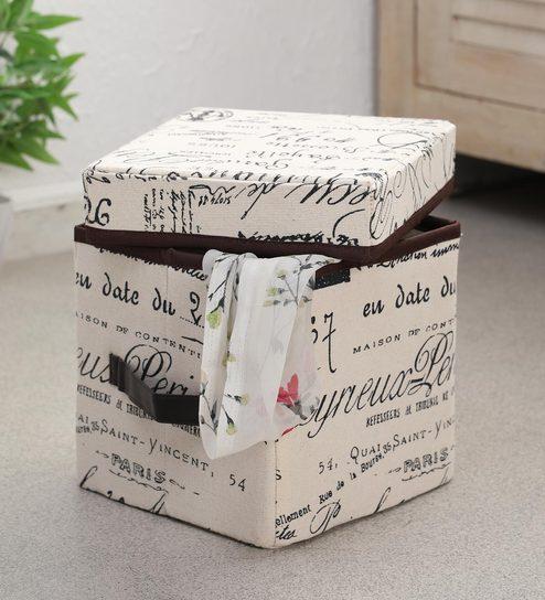 Calligraphy Print Storage Box by Calligraphia
