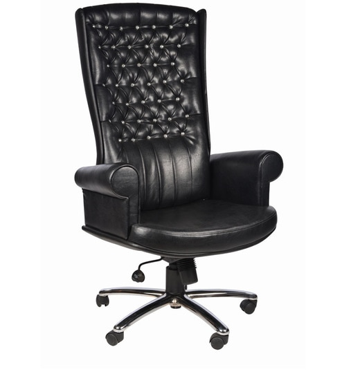 Pleasant Cambridge Office Chair In Black Colour By Chromecraft Home Interior And Landscaping Transignezvosmurscom