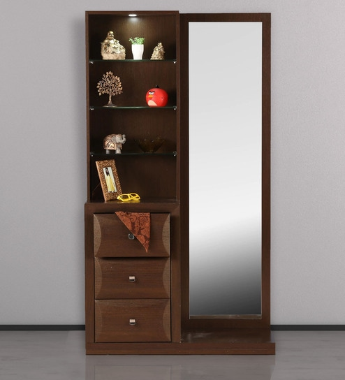 sports shoes ca505 ee352 Cambry Dressing Table in Walnut Finish by HomeTown