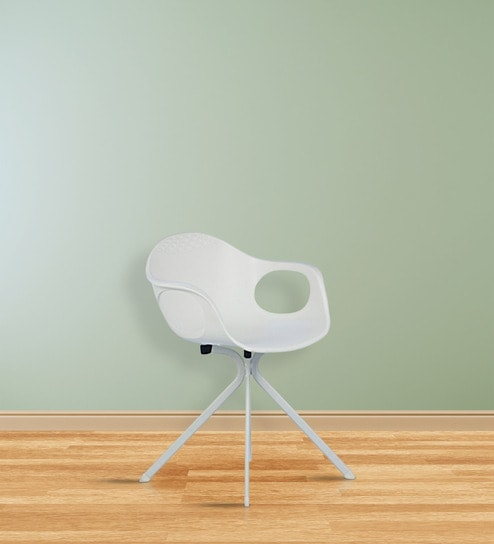 Cape Canaveral Rocket Chair In White Colour By HomeHQ