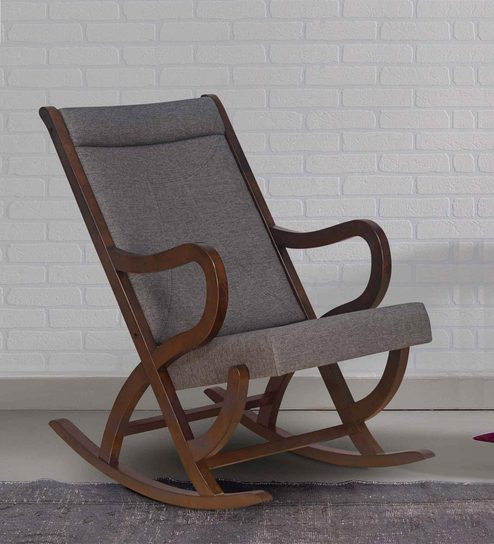 Prime Carnival Solid Wood Rocking Chair In Walnut Colour By Home Ibusinesslaw Wood Chair Design Ideas Ibusinesslaworg