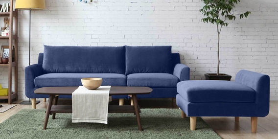 Calgary Three Seater Sofa With Lounger