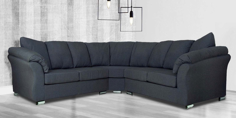 graphite grey buy carina five seater corner sofa set in graphite grey colour by