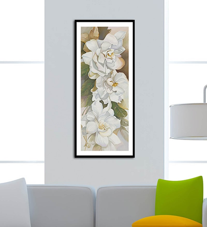 Canvas 12 x 24 Inch Framed Digital Art Print by Wallskin