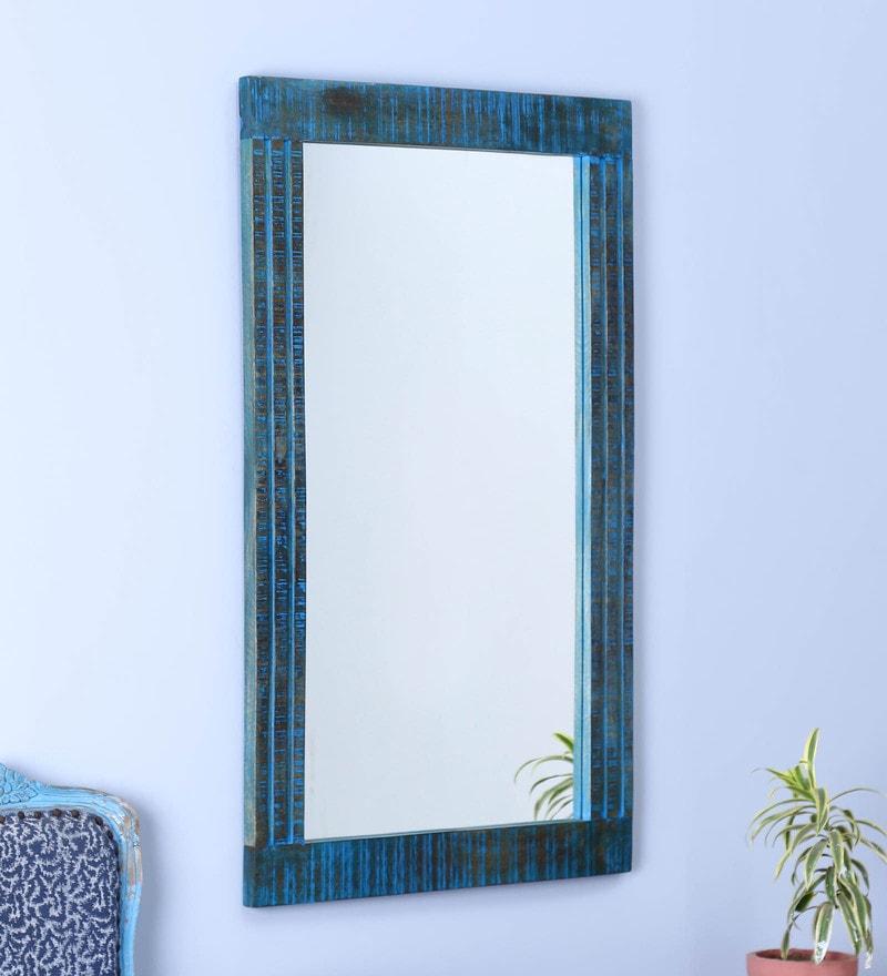 Blue Mango Furniture Buy Blue Mango Wood Mirror Mudra Online Eclectic Mirrors