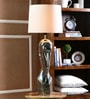 Royal Face White Ceramic Lamp by Calmistry