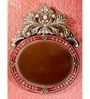 Red MDF Mirror by Venetian Design