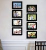 Camilio Collage Photo Frame in Black by CasaCraft
