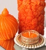 Orange Candle Set by Candles N Beyond