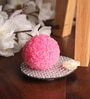 Mirror Tray with Net Small Rose Ball Candle by Candles N Beyond