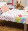 Candy Parlour Baby Quilt Set in Multicolour by Raw Kottage