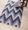 Indigo Cotton 58 x 37 Inch Area Rug by Carpet Overseas