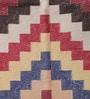 Multicolour Cotton 35 x 35 Inch Area Rug by Carpet Overseas