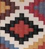 Multicolour Cotton 70 x 46 Inch Area Rug by Carpet Overseas