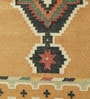 Tobacco Cotton 92 x 30 Inch Area Rug by Carpet Overseas