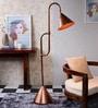 Cadiz Floor Lamp in Brown by Bohemiana