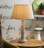 Jumilla Table Lamp In Grey by Amberville