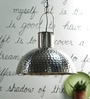 La Mancha Pendant Lamp In Silver by CasaCraft