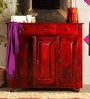 Norfolk Cabinet in Passion Mahogany Finish by Woodsworth