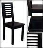 Oregon Dining Chair in Espresso Walnut Finish by Woodsworth