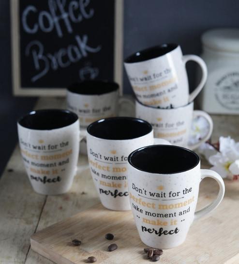 6c48902a883 Buy Ceramic 250 ML Mug Online - Slogan Mugs - Mugs - Dining & Bar ...