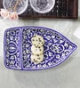 CDI Stoneware Stoneware Mughal Art Boat Shape Platter